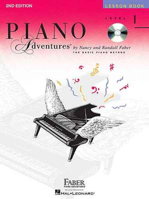 Piano Adventures Level 1 - Lesson Book - Book/CD 2nd Edition - Nancy Faber|Randall Faber - Piano Faber Piano Adventures /CD - Adlib Music