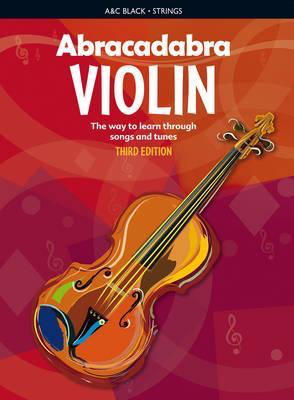 Abracadabra Violin 3rd Edition Book Only - Violin Peter Davey A & C Black