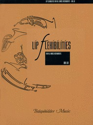 Lip Flexibilities for All Brass Instruments - Bai Lin - Balquhidder Music
