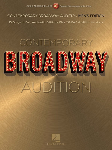 Contemporary Broadway Audition: Men's Edition - Vocal - Online Audio - Hal Leonard