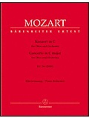 Concerto in C major K 314 (285 D) - for Oboe and Piano - Wolfgang Amadeus Mozart - Oboe Barenreiter