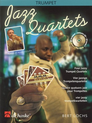 Jazz Quartets - Four Jazzy Trumpet Quartets - Bert Lochs - Trumpet De Haske Publications /CD