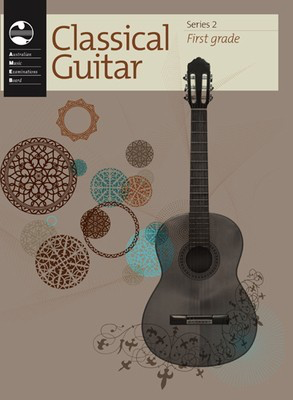 Classical Guitar Series 2 - First Grade - Classical Guitar|Guitar AMEB - Adlib Music