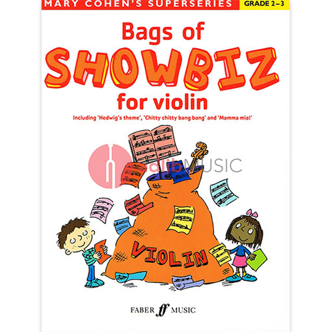 Bags of Showbiz for Violin - Mary Cohen - Faber Music