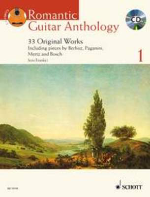 Romantic Guitar Anthology Volume 1 - 33 Original Works - Classical Guitar Schott Music - Adlib Music