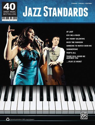 Jazz Standards - 40 Sheet Music Bestsellers Series - Various - Alfred Music Piano, Vocal & Guitar