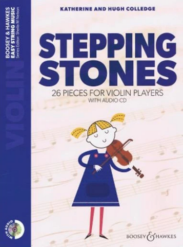 Stepping Stones Violin With Audio CD - Colledge - Boosey & Hawkes
