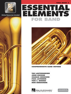 Essential Elements for Band Book 2 - Tuba in C Bass Clef/EEi Online Resources by Menghini/Bierschenk/Higgins/Lavender/Lautzenheiser/Rhodes Hal Leonard 862602