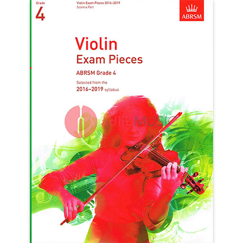 Violin Exam Pieces Grade 4, 2016-2019 - Score and Part - Various - Violin ABRSM
