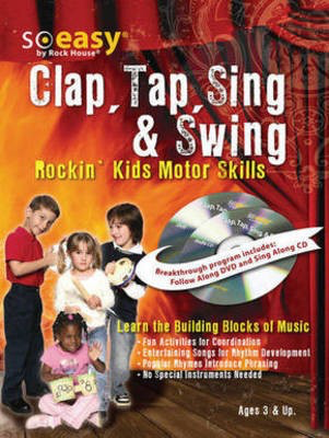 Rock House - Clap, Tap, Sing & Swing - Music Development for Kids - Guitar John McCarthy Rock House Guitar Solo Softcover/CD
