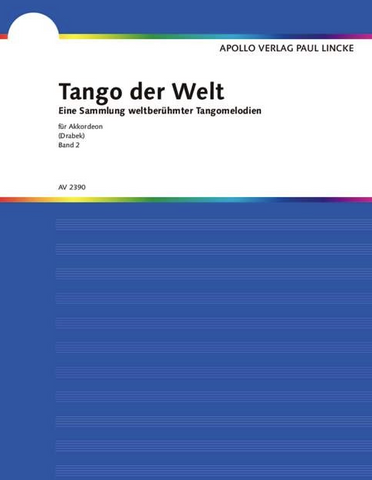 TANGOS FROM ALL OVER THE WORLD VOL 2 P/ACCORDION -  - ACCORDIAN - APOLLO
