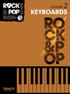 Rock & Pop Exams: Keyboards - Grade 2 - Book with CD - Keyboard|Piano Trinity College London /CD
