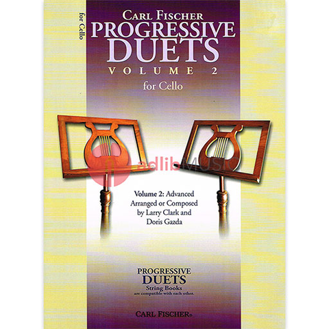 Progressive Duets Volume 2 for Cello - Various - Carl Fischer