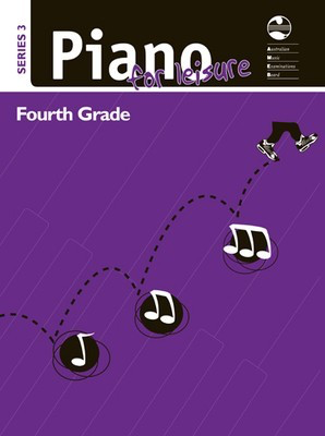 Piano for Leisure Series 3 - Fourth Grade - Piano AMEB Piano Solo - Adlib Music