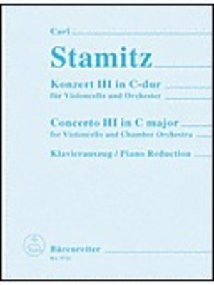 Concerto No 3 in C major - for Violincello - Carl Stamitz - Cello Hortus Musicus