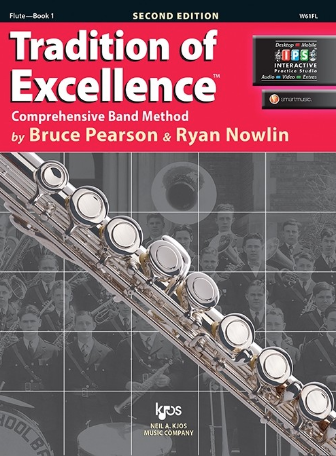 Tradition of Excellence Book 1 - Flute Part by Pearson/Nowlin Kjos W61FL