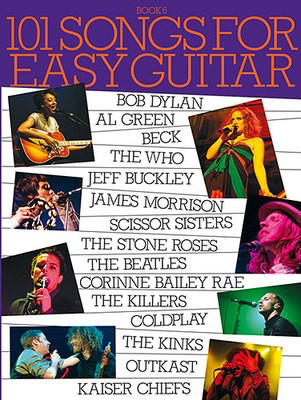 101 Songs For Easy Guitar: Book 6 - Guitar Wise Publications Easy Guitar with Lyrics & Chords - Adlib Music