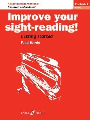 Improve your sight-reading! Piano pre-1 - Paul Harris - Piano Faber Music - Adlib Music