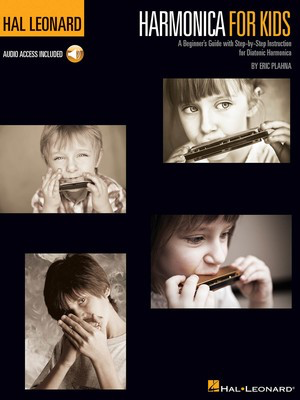 Harmonica for Kids - A Beginner's Guide with Step-by-Step Instruction for Diatonic Harmonica - Harmonica Eric Plahna Hal Leonard Sftcvr/Online Audio