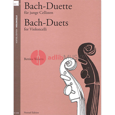 Bach - Duets for Young Cellists - Bach N3348