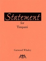Statement for Timpani - Garwood Whaley - Meredith Music