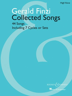 Collected Songs - 44 Songs, including 7 Cycles or Sets High Voice - Gerald Finzi - Classical Vocal High Voice Boosey & Hawkes
