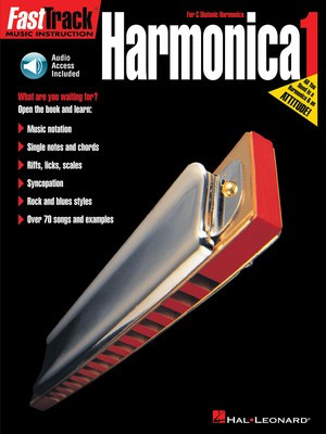 FastTrack Harmonica Method - Book 1 - for Diatonic Harmonica - Harmonica Blake Neely|Doug Downing Hal Leonard /CD