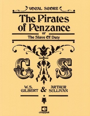 The Pirates of Penzance - Vocal Score - Arthur Sullivan|William Gilbert - Vocal IMP Vocal Score