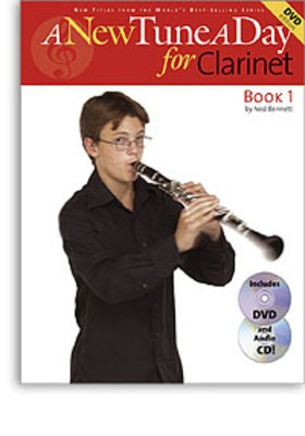 A New Tune A Day for Clarinet - Book 1 - (CD/DVD Edition) - Clarinet Ned Bennett Boston Music /CD/DVD