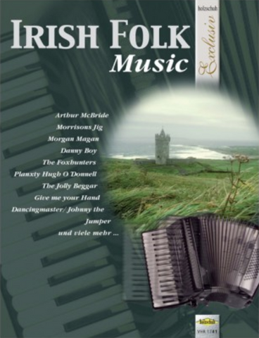 IRISH FOLK MUSIC ARR FOR PIANO ACCORDION SOLO - ACCORDIAN - HOLZSCHUH