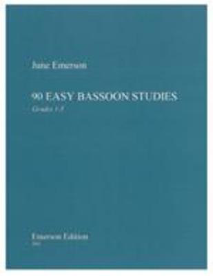 90 Easy Bassoon Studies - June Emerson - Bassoon Emerson Edition