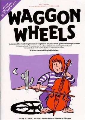 Waggon Wheels - Cello and Piano - Hugh Colledge|Katherine Colledge - Cello Boosey & Hawkes - Adlib Music