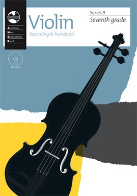 Violin Series 9 - Recording and Handbook Seventh Grade - Violin AMEB /CD - Adlib Music