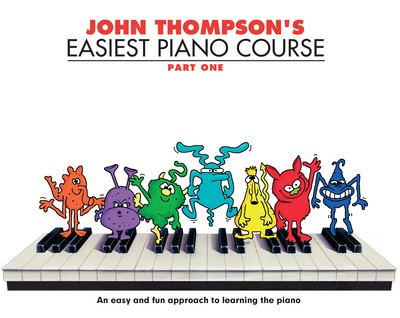 John Thompson's Easiest Piano Course - Part 1 - Book Only - Book Only - Piano John Thompson Willis Music - Adlib Music