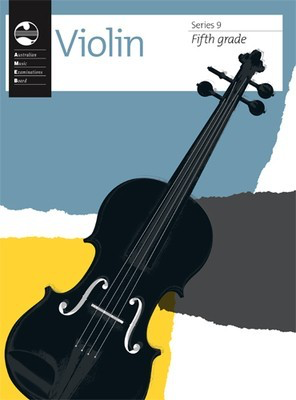 Violin Series 9 - Fifth Grade - Violin AMEB - Adlib Music