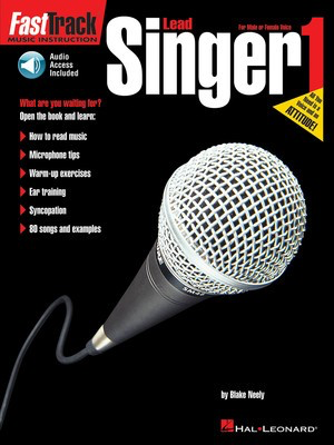 FastTrack Lead Singer Method - Book 1 - Vocal Blake Neely Hal Leonard /CD