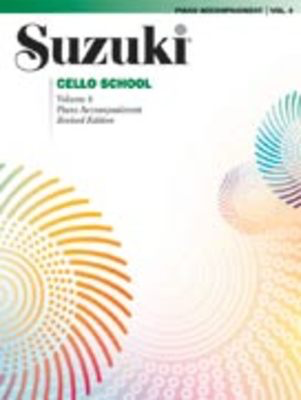 Suzuki Cello School Piano Acc., Volume 4 (Revised) - Cello Summy Birchard Piano Accompaniment - Adlib Music