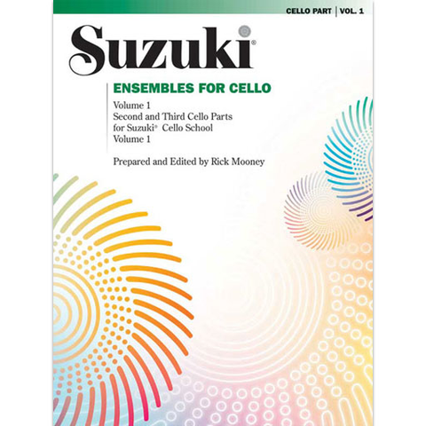 Suzuki Ensembles Volume 1 - Cello Ensemble 0296S