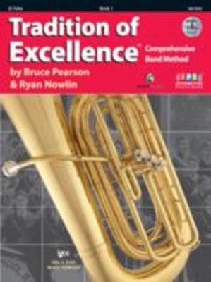 Tradition of Excellence Book 1 - Eb Tuba - EEb Tuba|Tuba Bruce Pearson|Ryan Nowlin Neil A. Kjos Music Company /DVD - Adlib Music