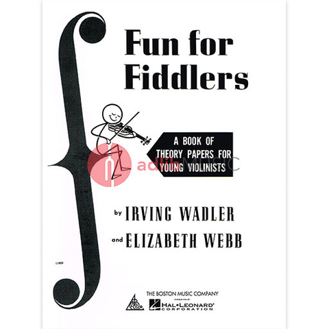 Fun For Fiddlers Theory Papers - Violin Boston Music