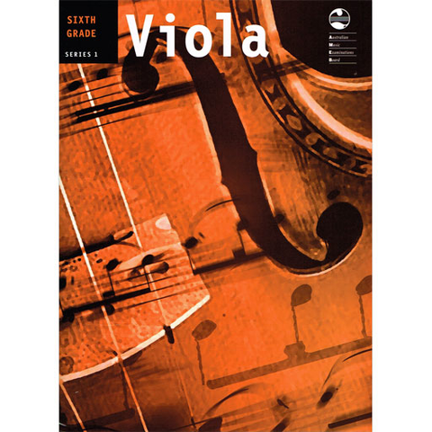 AMEB Series 1 Grade 6 - Viola/Piano Accompaniment 1202072239