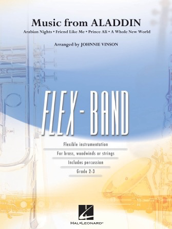 Music From Aladdin Arr. Johnnie Vinson - Flex Band - Hal Leonard