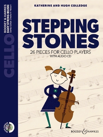 Stepping Stones For Cello  Book/CD - Colledge - Boosey & Hawkes