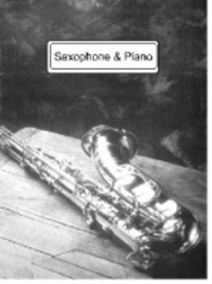 Schwarzer Tanzer - for Saxophone & Piano - Nigel Wood - Saxophone Saxtet Publications