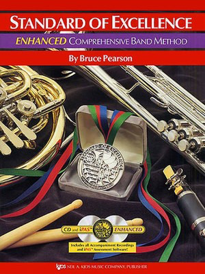 Standard of Excellence Enhanced, Book 1 Electric Bass - Bruce Pearson - Bass Guitar Neil A. Kjos Music Company /CD - Adlib Music