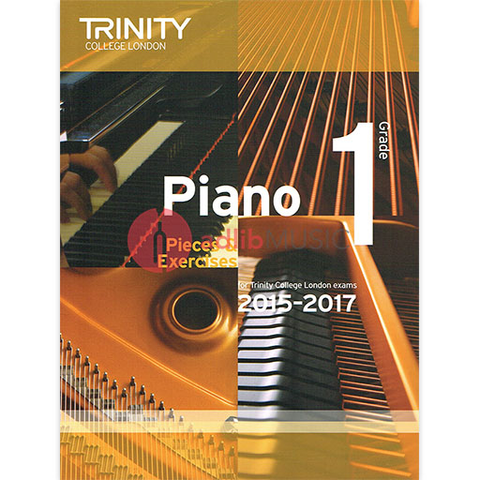 Trinity Piano Exam Pieces 2015-17 Grade 1 - Trinity