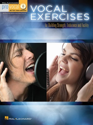 Vocal Exercises - for Building Strength, Endurance and Facility - Various - Pro Vocal - Hal Leonard /CD