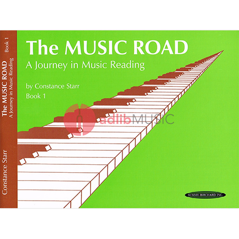Music Road: A Journey in Music Reading Book 1 - Starr Constance - Summy Birchard