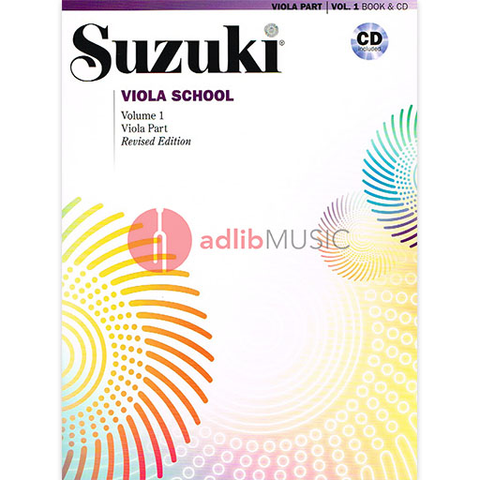 Suzuki Viola School Volume 1 Bk/CD - Suzuki Shinichi - Alfred Music