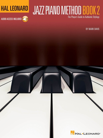 Jazz Piano Method Book 2 - Mark Davis - Book/Online Audio - Hal leonard